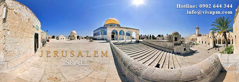 visa israel du lịch, visa isreal du lich