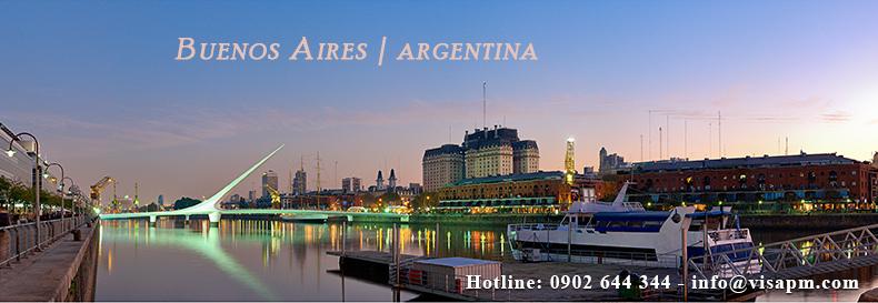 visa argentina du lịch, visa argentina du lich