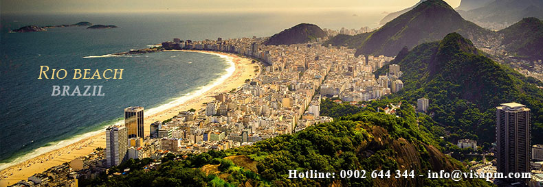 visa brazil du lịch, visa brazil du lich
