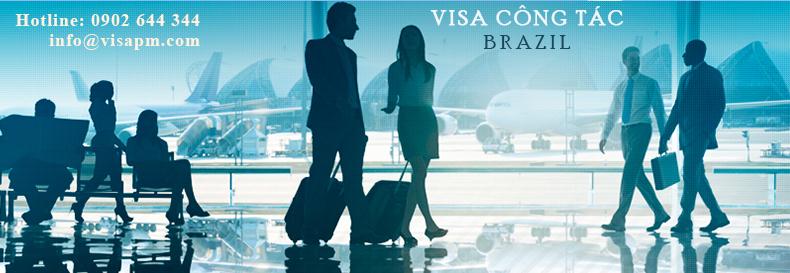 visa brazil công tác, visa brazil cong tac