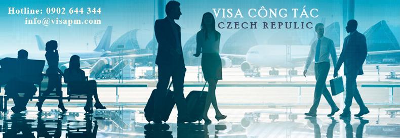 visa cộng hòa séc công tác, visa cong hoa sec cong tac