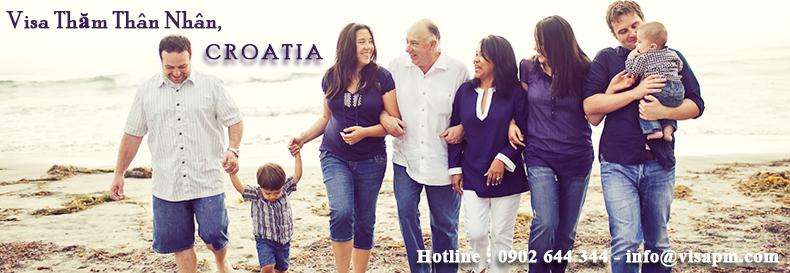 visa croatia thăm thân nhân, visa croatia tham than nhan