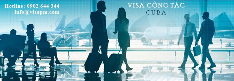 visa cuba công tác, visa cuba cong tac