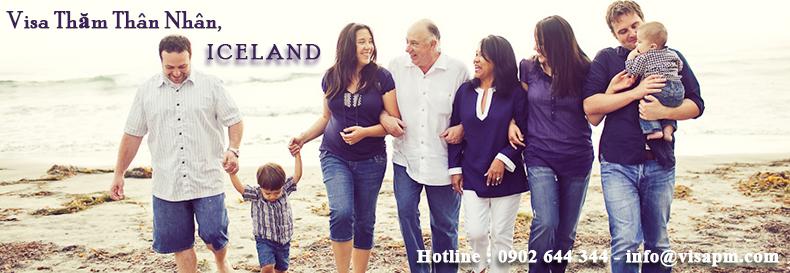 visa iceland thăm thân nhân, visa iceland tham than nhan