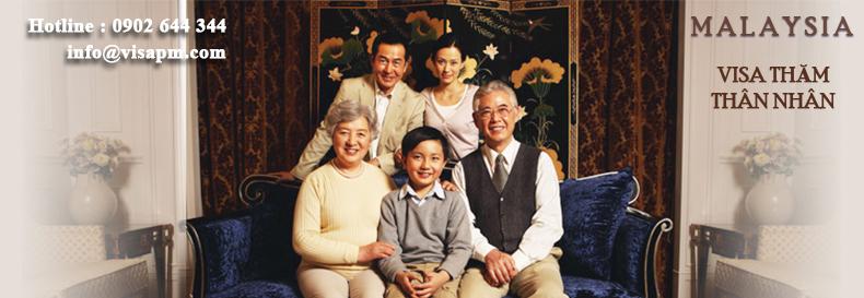 visa malaysia thăm thân nhân, visa malaysia tham than nhan